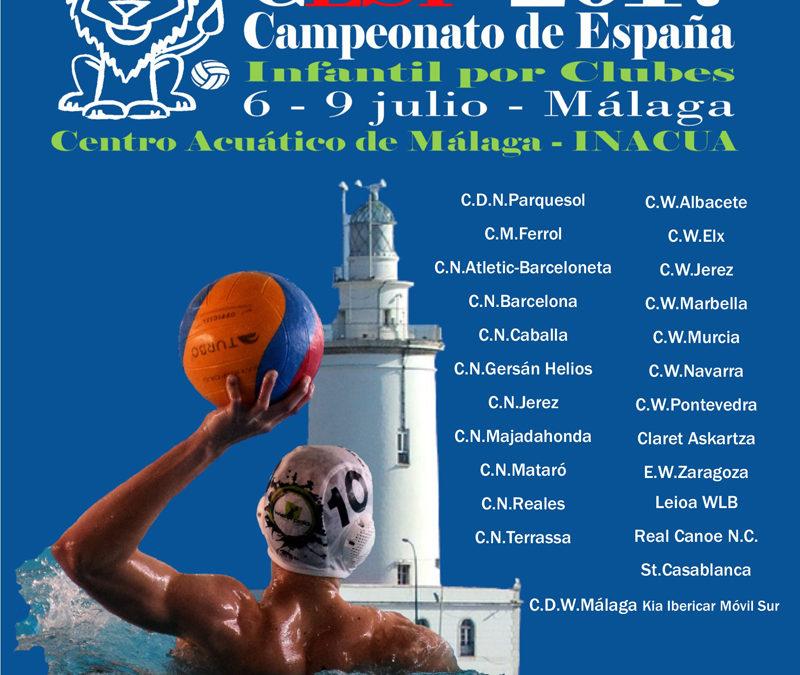 Inacua-Málaga acoge el Campeonato de España de Waterpolo Infantil Mixto (1ª parte)