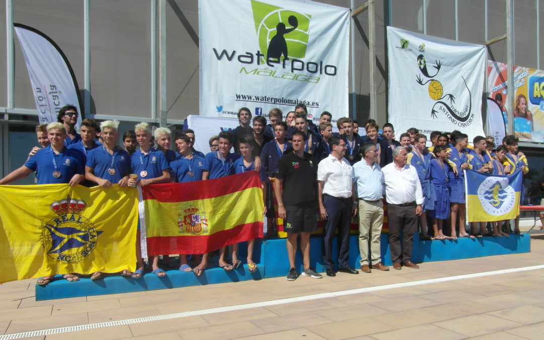 CN Barcelona gana el Campeonato de España Infantil 2017