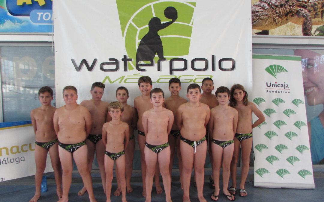 Cuatro victorias en la jornada del Campeonato de Andalucía Alevín de Waterpolo