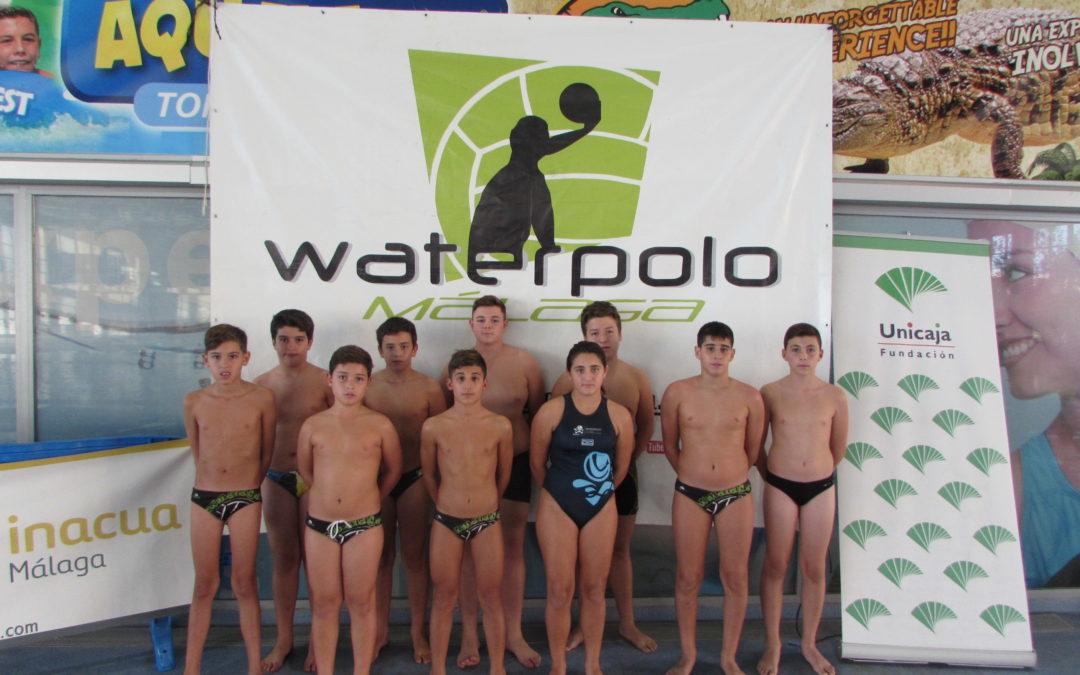 La Selección Andaluza Infantil de Waterpolo se nutre de nueve guerreros del CDWP Málaga