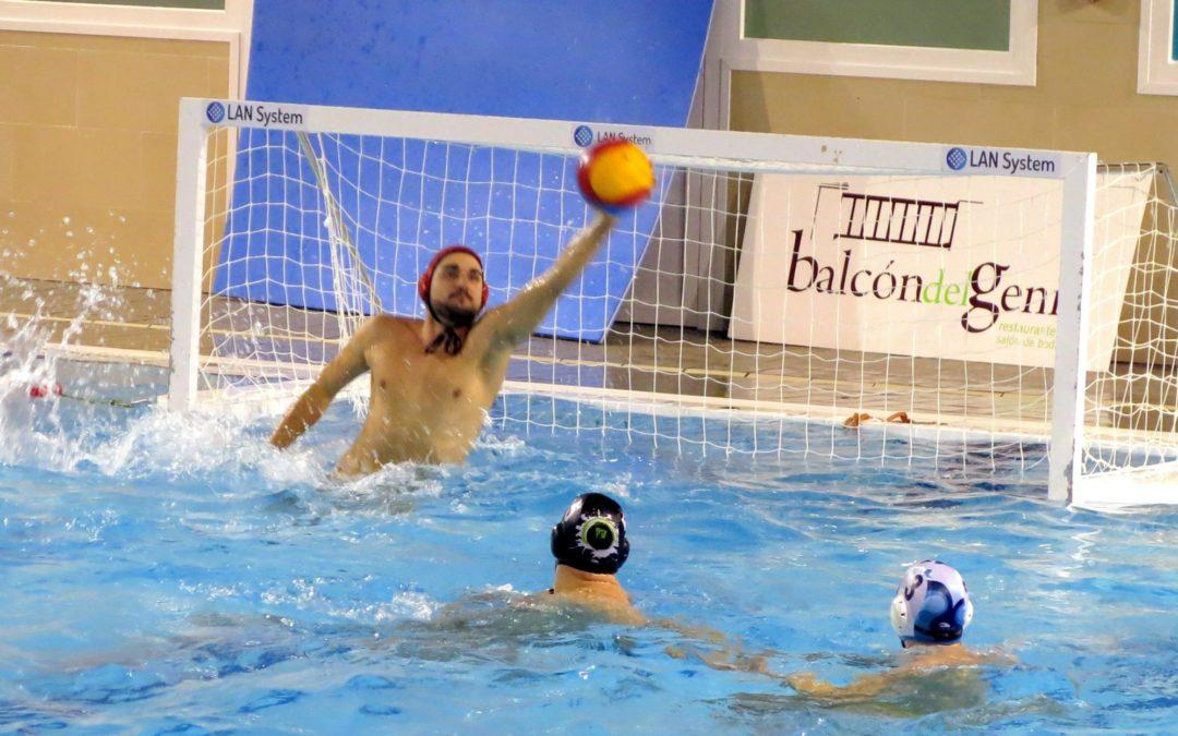 El Waterpolo Málaga no pudo cerrar el año 2017 con una victoria