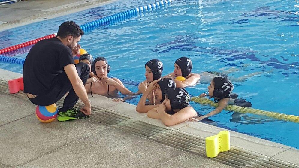 El Waterpolo Málaga infantil logra colar un equipo de primer año en la fase final del Andaluz