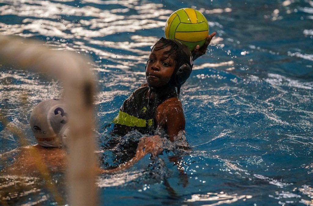 El equipo alevín del Waterpolo Málaga lidera la fase semifinal del Andaluz