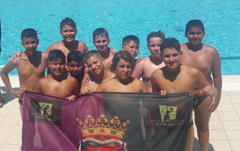 El Waterpolo Málaga se cuela en la élite internacional en el prestigioso torneo alevín 'HaBaWaBa'