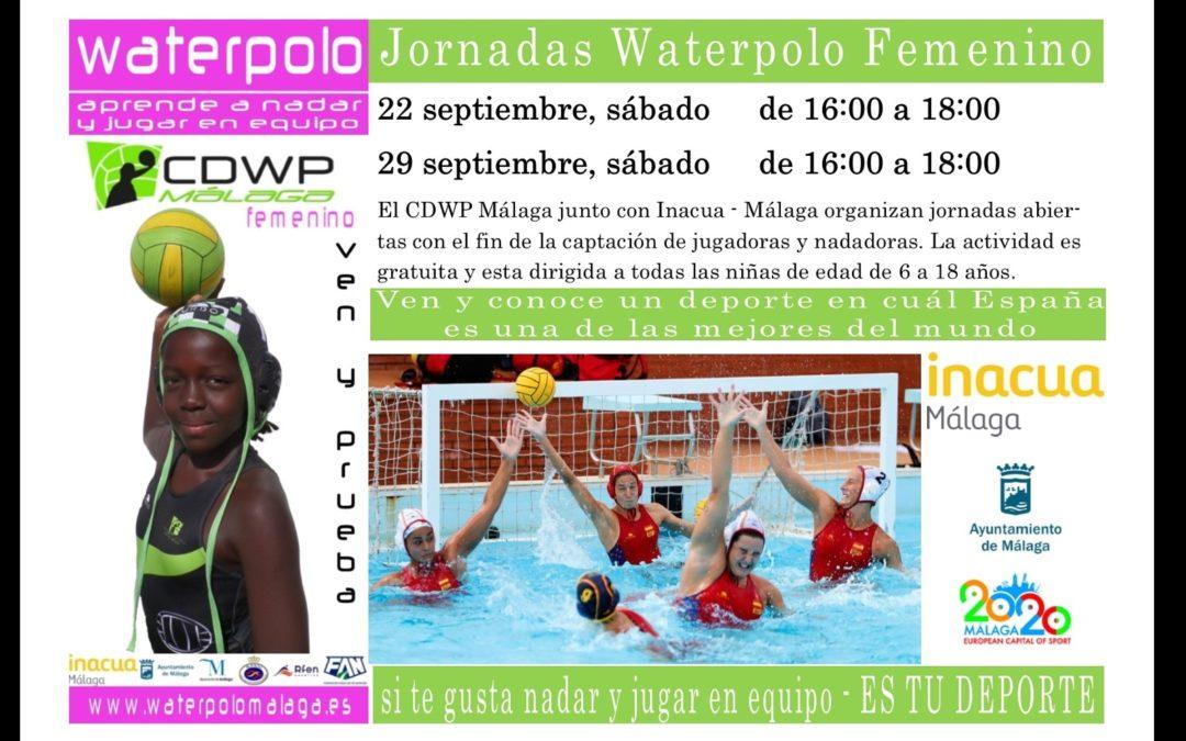 Jornadas de Puertas Abiertas para jugadoras y nadadoras