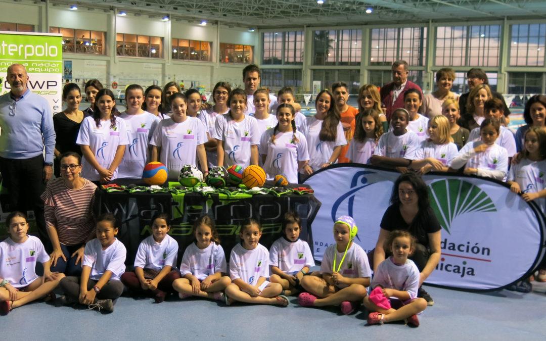 El Waterpolo Málaga se alía con la Fundación Fomento del Deporte para impulsar su proyecto femenino