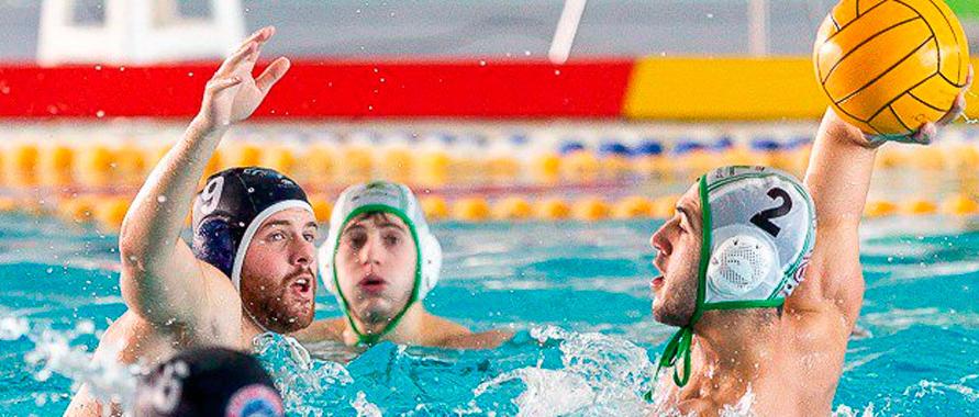El Waterpolo Málaga se abona a la victoria en 2019 y logra un trabajado triunfo en Dos Hermanas