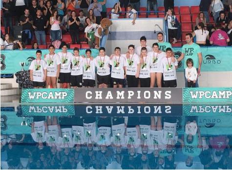 El Waterpolo Málaga se proclama subcampeón del torneo infantil internacional WP Camp