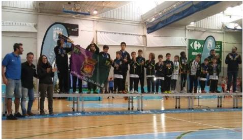 El Waterpolo Málaga alevín consigue la plata en el Torneo Tewan de Marbella