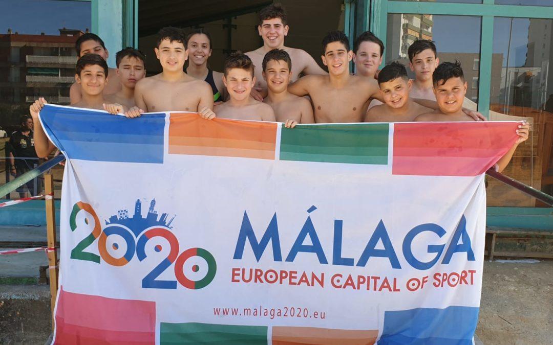 El Waterpolo Málaga infantil levanta ilusiones con la Copa