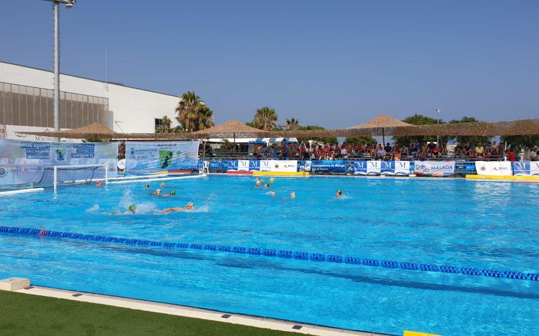 El Waterpolo Málaga infantil, segundo en la fase de grupos del Campeonato de España