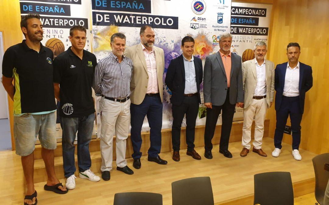 Málaga, referente del waterpolo nacional al acoger el Campeonato de España infantil masculino y femenino por primera vez de forma simultánea