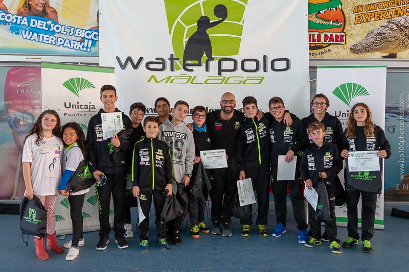 El Waterpolo Málaga continurá con su plan de seguimiento en los estudios de sus deportistas