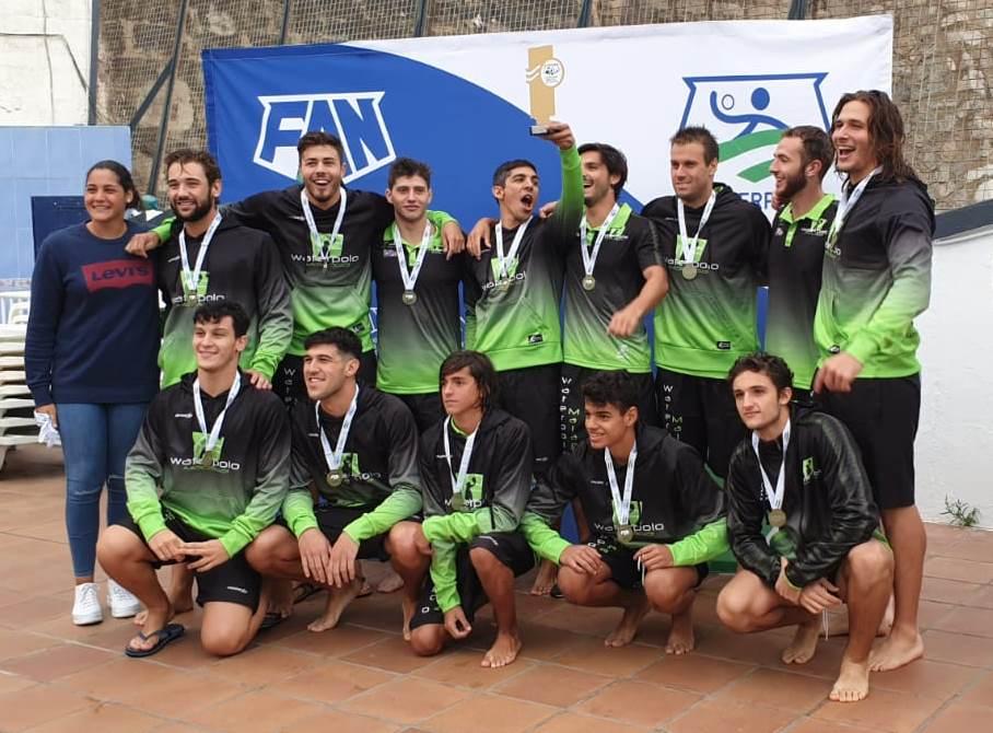 El Waterpolo Málaga, flamante vencedor de la Copa Andalucía