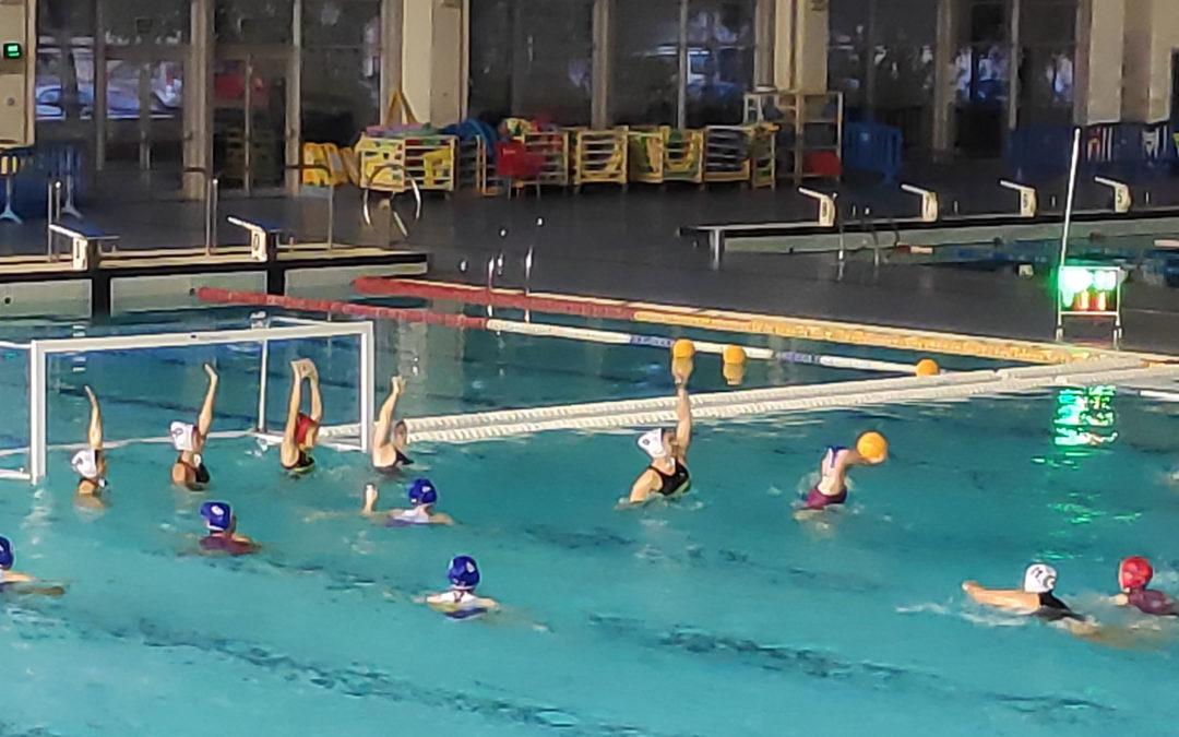 El Waterpolo Málaga femenino se sube al carro de las victorias