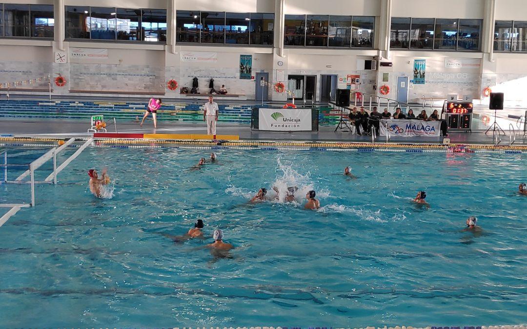 El Waterpolo Málaga retoma la senda de los puntos, reponiéndose de la derrota anterior en la doble jornada en 24 horas