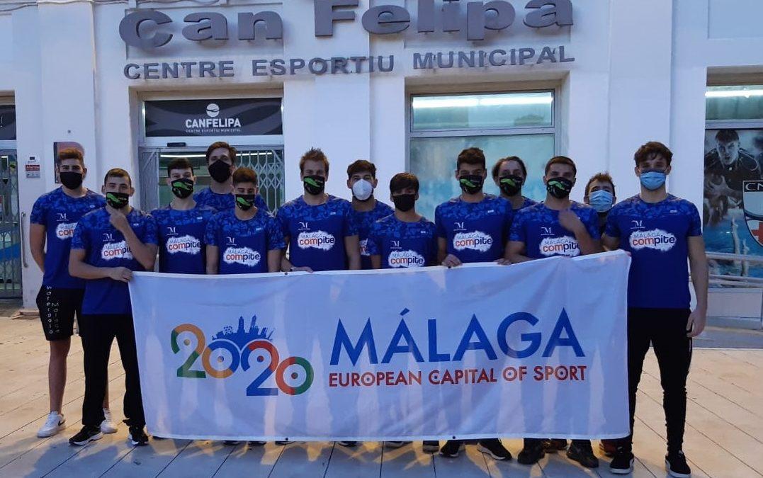 El Waterpolo Málaga inaugura a lo grande su casillero de victorias