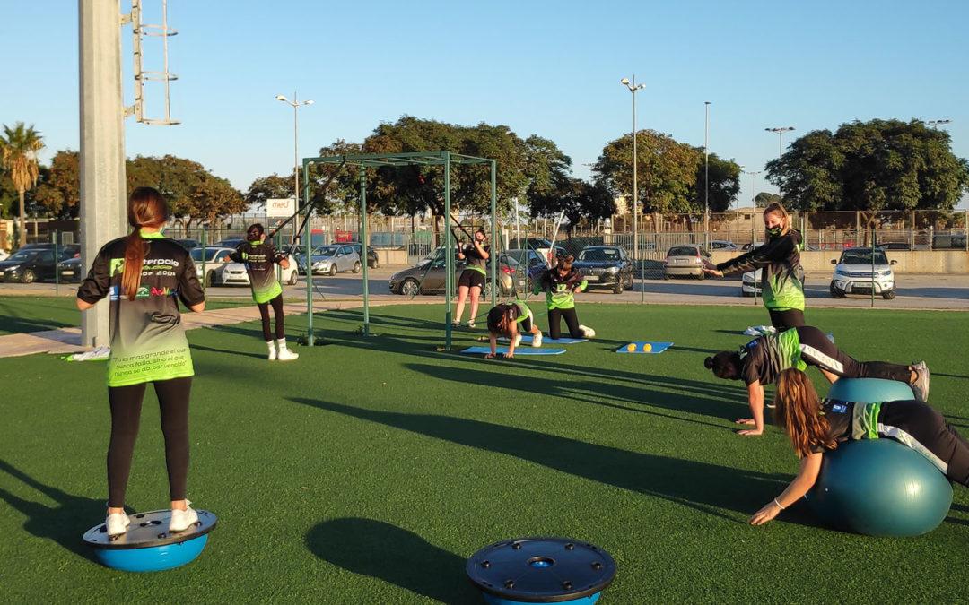 El Waterpolo Málaga readapta sus dinámicas y horarios para seguir entrenando