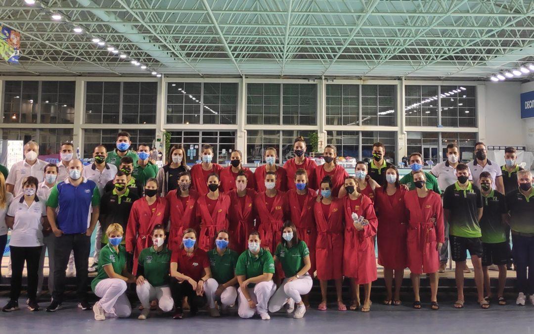 Anfitriones de la Selección Española absoluta femenina de waterpolo