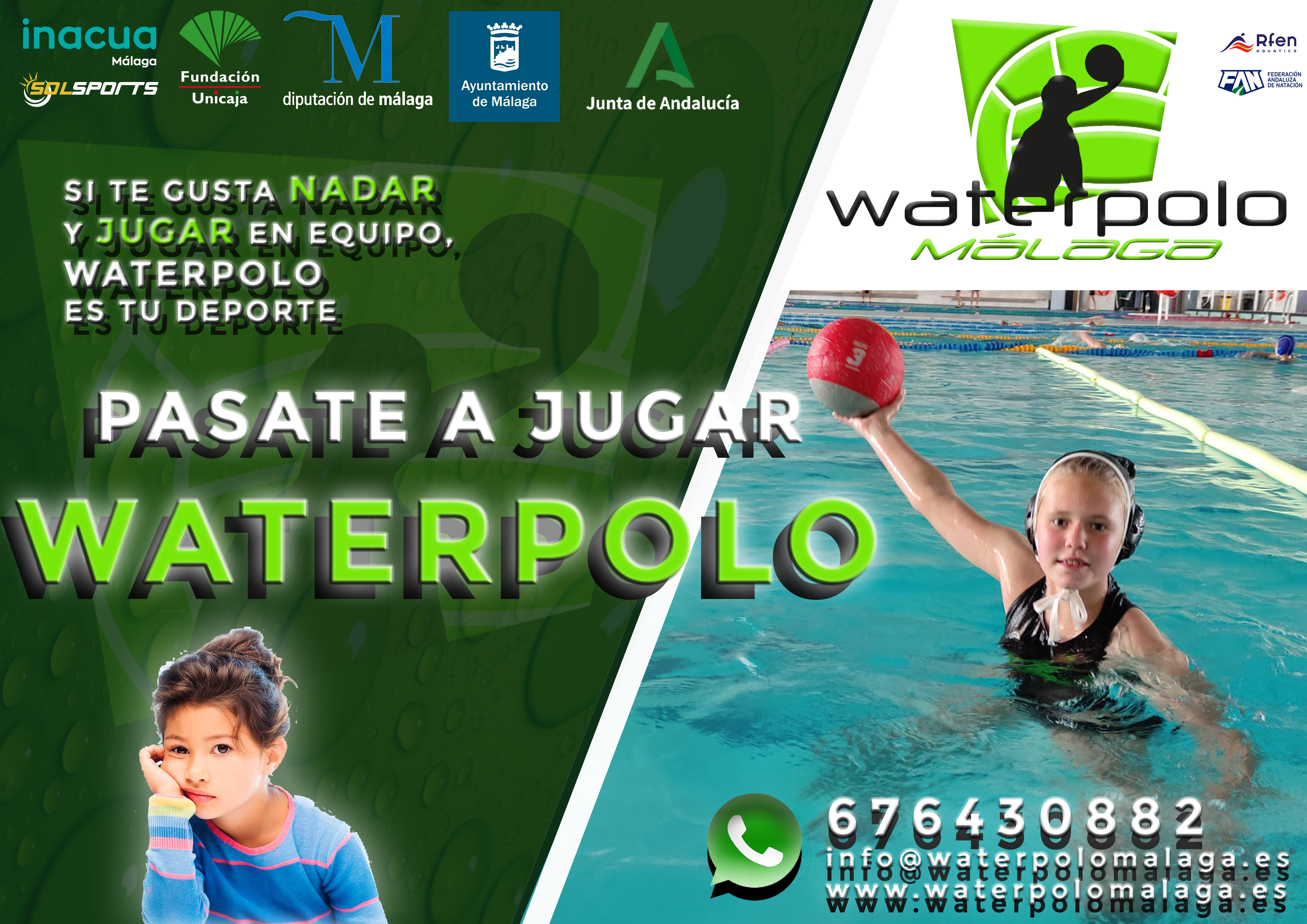pastae mejor a jugar waterpolo - CHICA