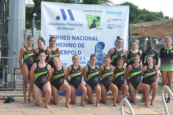 Gran fiesta del Waterpolo Femenino en Inacua Málaga
